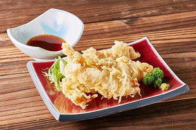 地鶏の天ぷら